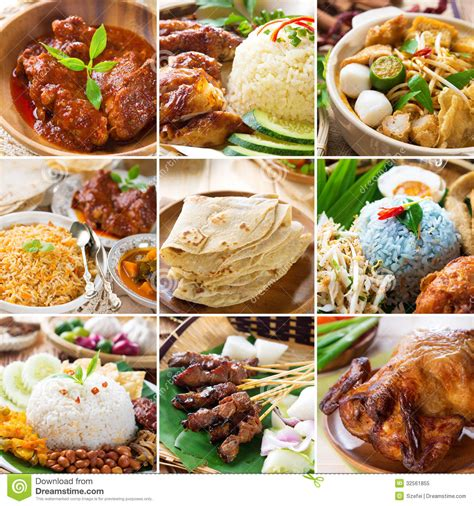 cuisine free food collection stock image image of collage