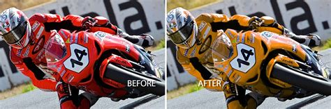 Change Color Of Image Changing Color In Photoshop