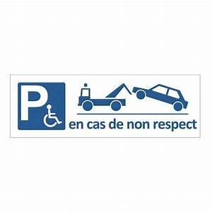 Mise En Fourrière : panneau de parking r serv aux handicap s avec mise en fourri re h 150 x l 450 mm alu dibond ~ Gottalentnigeria.com Avis de Voitures