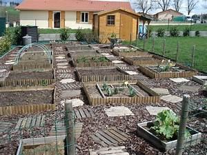 Carre De Jardin Potager : potager au carr le coin d 39 ambre ~ Premium-room.com Idées de Décoration