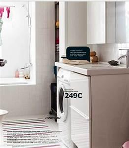 Machine A Laver Murale : meuble lave linge salle de bain meuble lave linge salle bain sur enperdresonlapin ~ Dode.kayakingforconservation.com Idées de Décoration