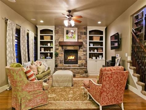Decoration Home Ideas: Cozy French Country Family Room..