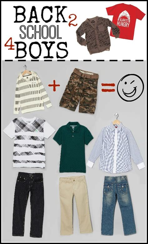 Back to School Clothes for Boys Cute u0026 Functional Styles