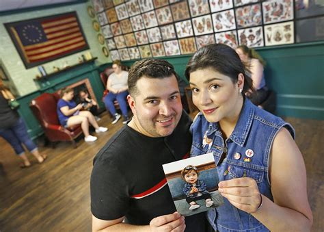 tattoo shop fundraiser supports quincy toddler news