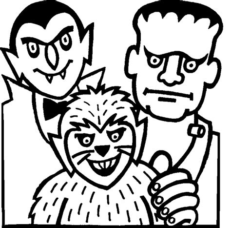 coloring pages printable halloween coloring pages