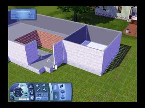 sims 3 loft bauen sims 3 house building part 1