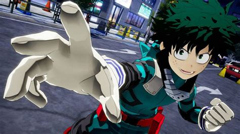 My Hero Academia Video Game Screenshots Are Out Gadgetmatch