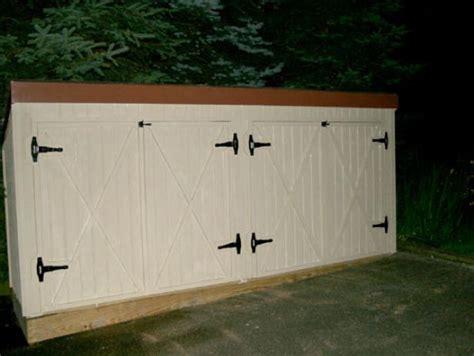 build  trash shed hgtv
