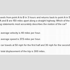 Speed And Velocity Questions (practice)  Khan Academy