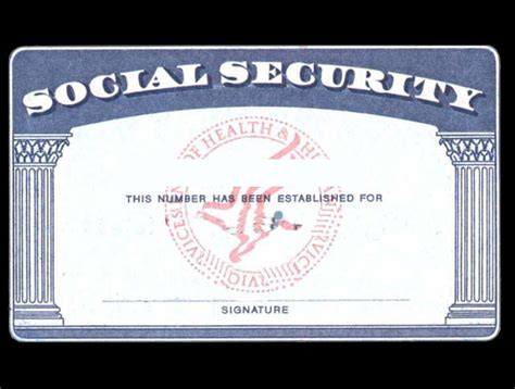 psd social security cards printable images social