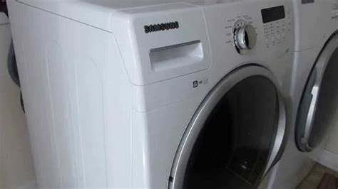 samsung wfanwxaa vrt front load washer noise youtube