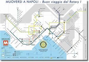 "Naples underground Map: ""Moving around Napoles, Rotary ..."