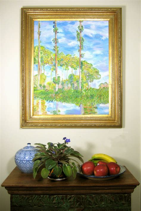 One of Monet's Poplars for sale on etsy. | Etsy, Poplar, Trending outfits