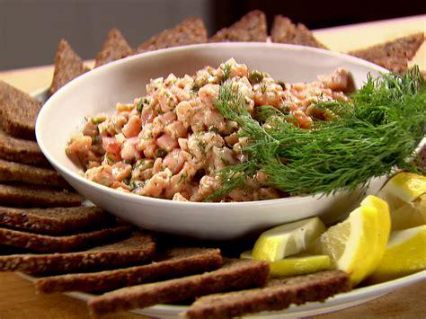 tartare cuisine fresh salmon tartare recipe ina garten food