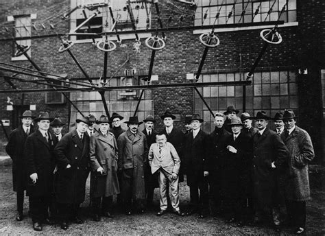 File:Albert Einstein with other engineers and scientists ...