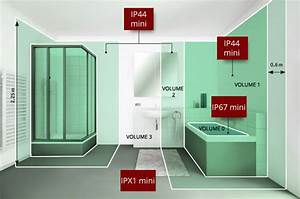 volume de protection salle de bain dootdadoocom idees With volume de protection salle de bain