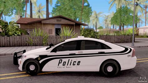 chevrolet caprice  ames police department  gta san
