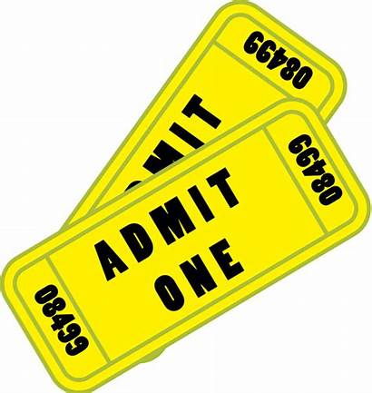 Ticket Tickets Cartoon Svg Concert Animation Clip