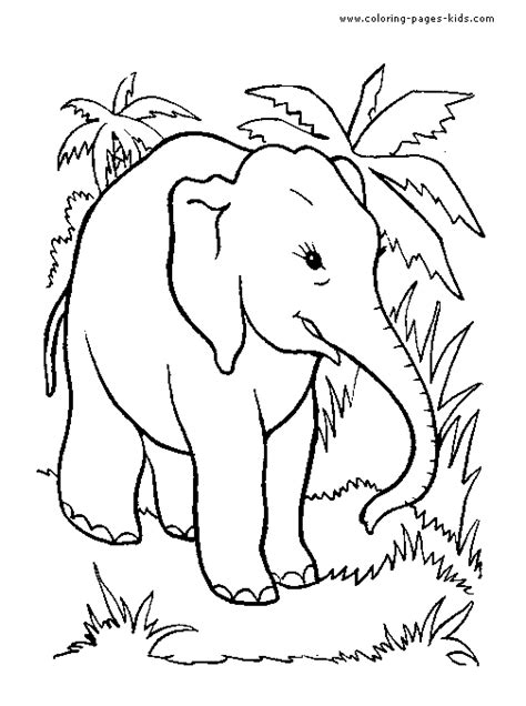 gensther tattoo elephant pictures  kids  colour