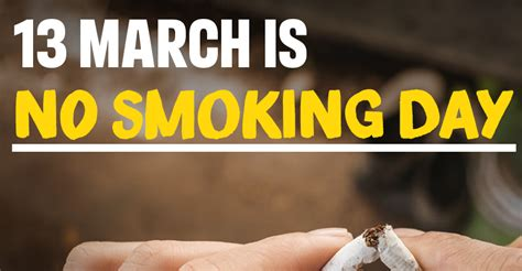 smoking day march  top  health benefits ccrs