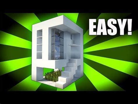 minecraft   build  easy small modern house