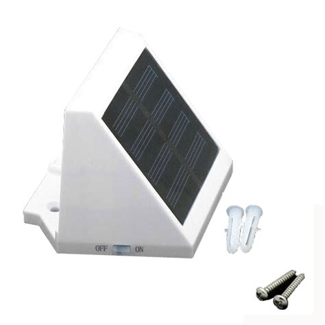 outdoor auto solar power led porch lights light solar