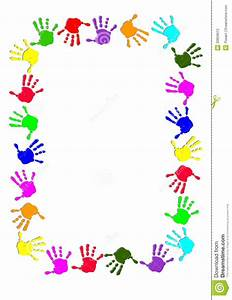 Hands Border Clipart - Clipart Suggest