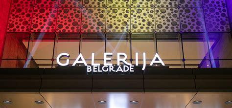 Galerija Belgrade, the biggest shopping mall in the region ...