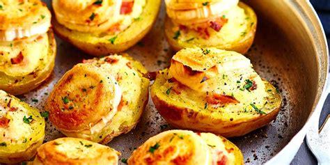 mariotte cuisine pommes de terre farcies au chèvre et jambon facile et pas