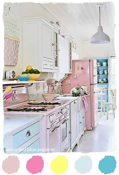 Pretty Kitchen Fresh Palette by And Blue Paperie Color Palette Pretty In Pink