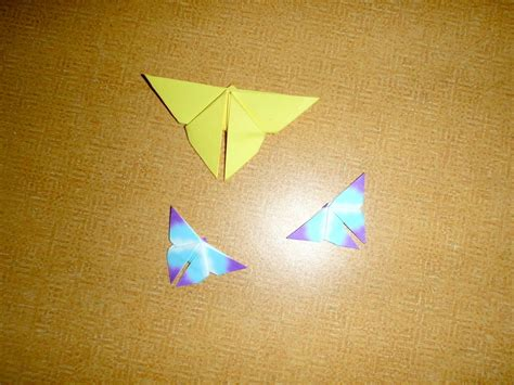 simple origami butterfly  origami animal paper
