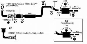 Mazda 626 Exhaust Diagram From Best Value Auto Parts