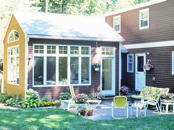 Sunroom Addition Ideas by Sunrooms Ideas Seamless Exterior Additions Better Homes