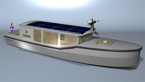 Electric Motor Boat Project Information by All Electric Solar Powered Motorboat Boat Design Net