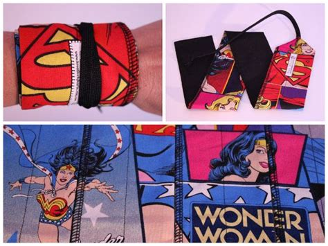 Crossfit Wrist Wraps Wonder Woman Super Girl Batgirl