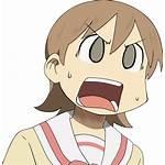 Nichijou Face Yukko Anime Transparent Deviantart Reaction