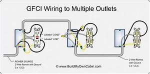 A Light Wiring Diagram For Gfi
