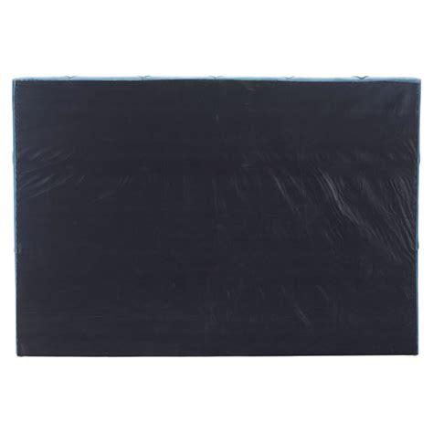 matias headboard king tufted blue velvet dcg stores
