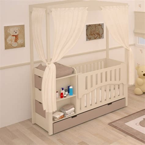 lit bébé chambre parents meuble rangement chambre bébé gawwal com