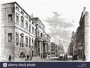 Edinburgh University, Scotland in the 19th century Stock ...