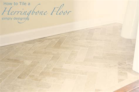 tile floor yourself herringbone tile floor how to prep lay and install