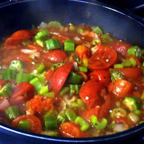 okra recipe okra and tomatoes recipes dishmaps