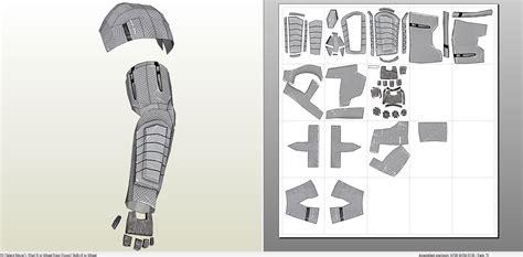 Mass Effect 3 N7 Armor Template by N7 Armor Pepakura Template Related Keywords N7 Armor