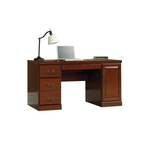 sauder computer credenza computer desk home office furniture workstation table