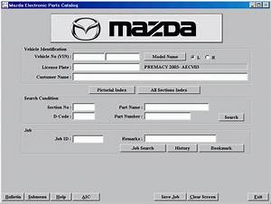 Mazda Europe Lhd 2012 Spare Parts Catalog Download