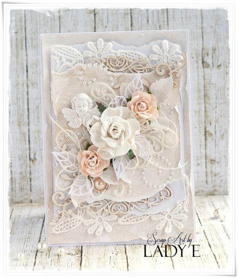 shabby chic wedding card ideas wild orchid crafts shabby chic wedding cards