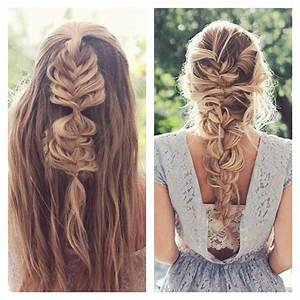 Coiffure Tresse Facile Cheveux Mi Long : coiffure tresse facile cheveux mi long coiffure simple ~ Melissatoandfro.com Idées de Décoration