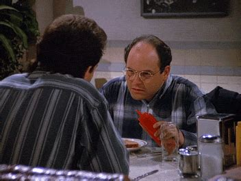george costanza squirts  ketchup  accident gifrific
