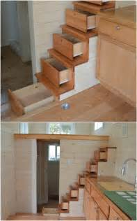 Bench Construction by 40 Tiny House Storage And Organizing Ideas For The Entire
