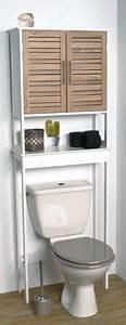 Meuble De Rangement Wc : meubles rangement toilettes ~ Teatrodelosmanantiales.com Idées de Décoration